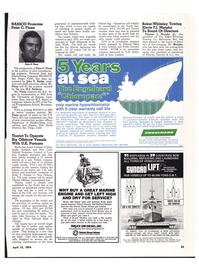 Maritime Reporter Magazine, page 21,  Apr 15, 1974