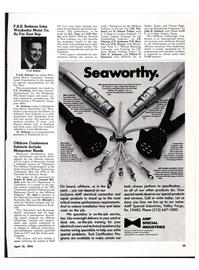 Maritime Reporter Magazine, page 23,  Apr 15, 1974