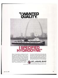 Maritime Reporter Magazine, page 26,  Apr 15, 1974