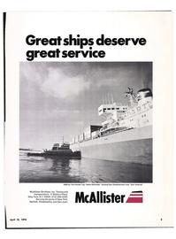 Maritime Reporter Magazine, page 1,  Apr 15, 1974