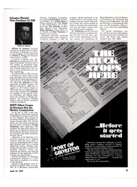 Maritime Reporter Magazine, page 34,  Apr 15, 1974