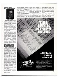 Maritime Reporter Magazine, page 36,  Apr 15, 1974