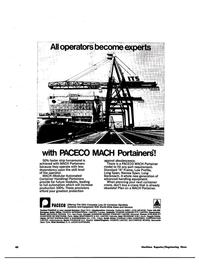 Maritime Reporter Magazine, page 39,  Apr 15, 1974
