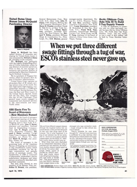 Maritime Reporter Magazine, page 40,  Apr 15, 1974