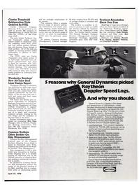 Maritime Reporter Magazine, page 42,  Apr 15, 1974