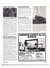 Maritime Reporter Magazine, page 44,  Apr 15, 1974