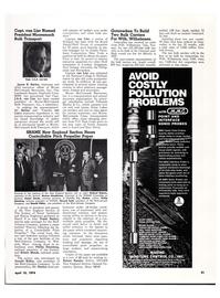 Maritime Reporter Magazine, page 50,  Apr 15, 1974