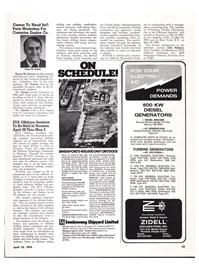 Maritime Reporter Magazine, page 52,  Apr 15, 1974