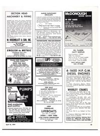 Maritime Reporter Magazine, page 54,  Apr 15, 1974
