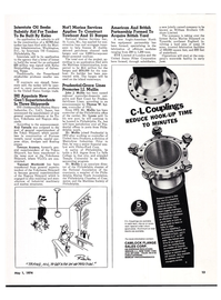 Maritime Reporter Magazine, page 11,  May 1974