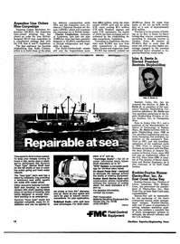 Maritime Reporter Magazine, page 12,  May 1974