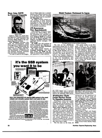 Maritime Reporter Magazine, page 20,  May 1974 Knox Joins