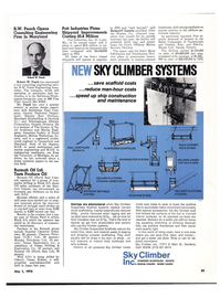 Maritime Reporter Magazine, page 21,  May 1974