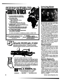 Maritime Reporter Magazine, page 32,  May 1974