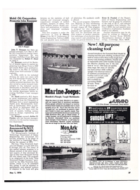 Maritime Reporter Magazine, page 35,  May 1974 Ohio