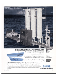 Maritime Reporter Magazine, page 37,  May 1974 Keene Corporation