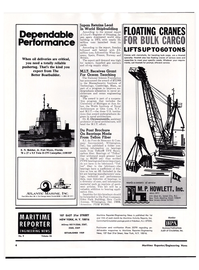 Maritime Reporter Magazine, page 2,  May 1974 Post Office