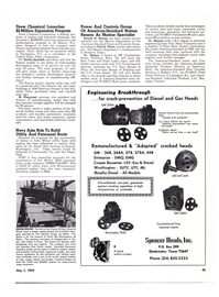 Maritime Reporter Magazine, page 41,  May 1974