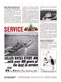Maritime Reporter Magazine, page 42,  May 1974
