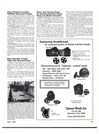 Maritime Reporter Magazine, page 43,  May 1974