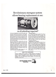Maritime Reporter Magazine, page 3,  May 1974 conventional systems