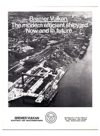 Maritime Reporter Magazine, page 3rd Cover,  May 1974