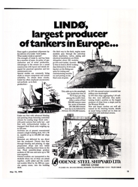 Maritime Reporter Magazine, page 10,  May 15, 1974
