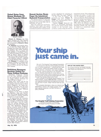 Maritime Reporter Magazine, page 12,  May 15, 1974