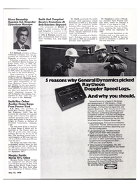 Maritime Reporter Magazine, page 16,  May 15, 1974