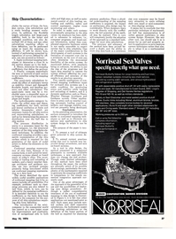 Maritime Reporter Magazine, page 36,  May 15, 1974 onnboard systems