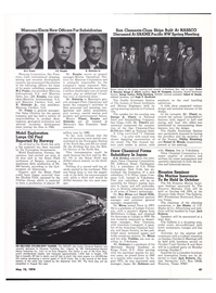 Maritime Reporter Magazine, page 40,  May 15, 1974