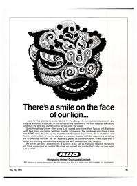 Maritime Reporter Magazine, page 42,  May 15, 1974