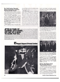 Maritime Reporter Magazine, page 45,  May 15, 1974