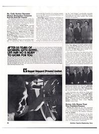 Maritime Reporter Magazine, page 45,  May 15, 1974 L.C. Malburg Jr.