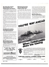 Maritime Reporter Magazine, page 46,  May 15, 1974