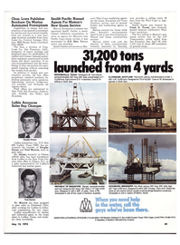 Maritime Reporter Magazine, page 48,  May 15, 1974