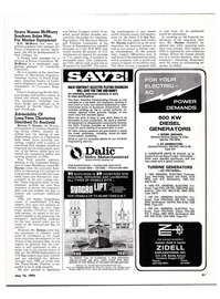 Maritime Reporter Magazine, page 50,  May 15, 1974
