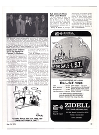 Maritime Reporter Magazine, page 52,  May 15, 1974