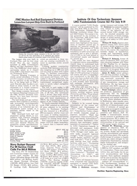 Maritime Reporter Magazine, page 4,  May 15, 1974 technology of LNG produc