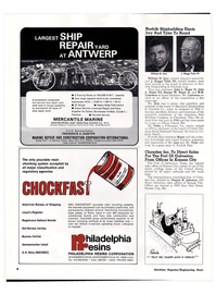 Maritime Reporter Magazine, page 6,  May 15, 1974