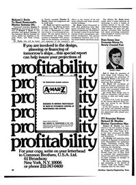 Maritime Reporter Magazine, page 18,  Jun 1974