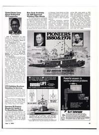 Maritime Reporter Magazine, page 19,  Jun 1974