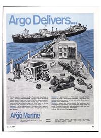 Maritime Reporter Magazine, page 25,  Jun 1974