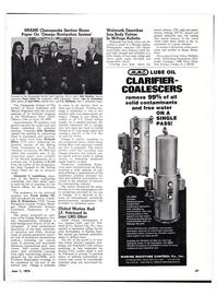 Maritime Reporter Magazine, page 27,  Jun 1974