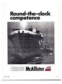Maritime Reporter Magazine, page 1,  Jun 1974
