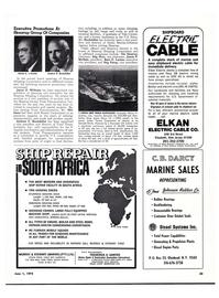 Maritime Reporter Magazine, page 34,  Jun 1974