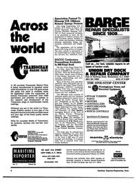 Maritime Reporter Magazine, page 2,  Jun 1974