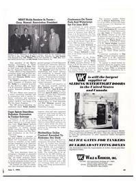 Maritime Reporter Magazine, page 42,  Jun 1974