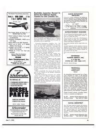 Maritime Reporter Magazine, page 50,  Jun 1974