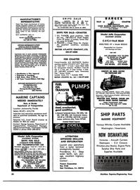 Maritime Reporter Magazine, page 53,  Jun 1974